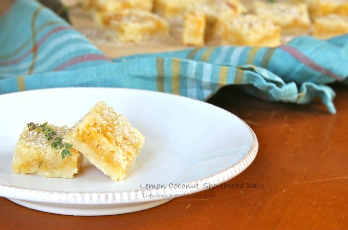 Lemon Coconut Shortbread Bars WM slider