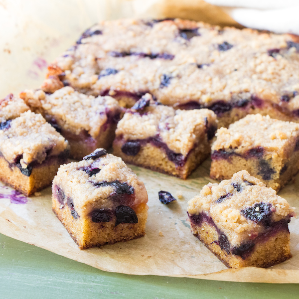 Lemon Blueberry Bars With Coconut Crust Recipes — Dishmaps
