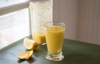 Orange - Mango Smoothie with Lime & Ginger: #SundaySupper