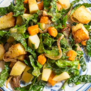 Apple-Sweet Potato Panzanella 800X533