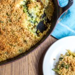 Broccoli, Cheese, Quinoa Casserol featured