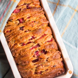 plum pull apart bread feature