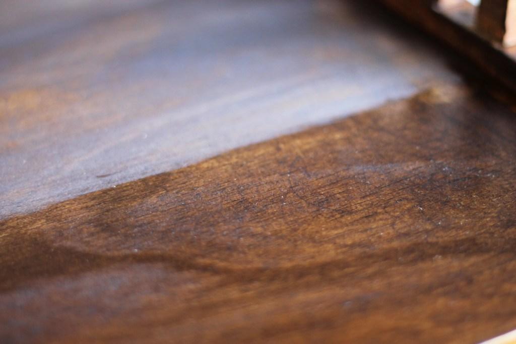 DIY Distressed Wood Stain | www.thewinecountrymama.com