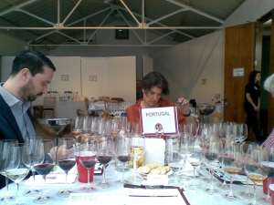 Chairing the Portugal panel - Decanter World Wine Awards