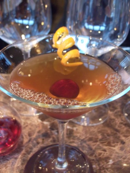 a perfect Manhattan