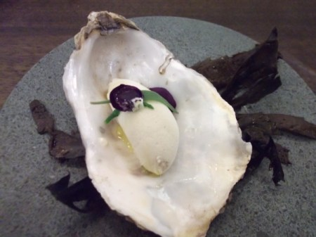 oyster ice cream