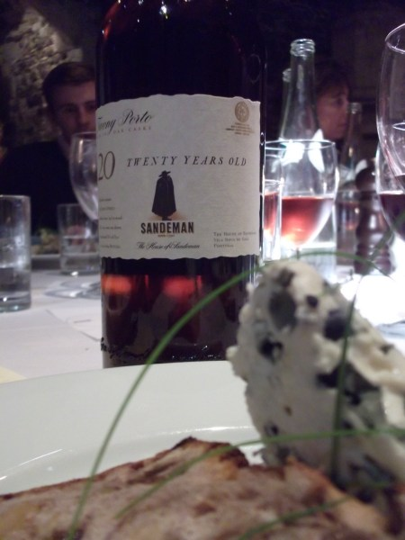 roquefort and 20 yr old Tawny