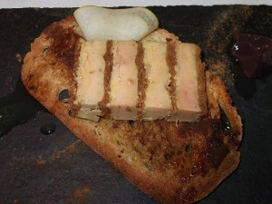 foie on toast