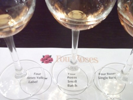 4 Roses tasting