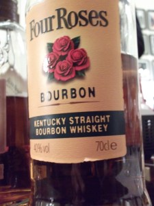 4 Roses yellow label