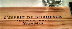 L&#8217;espirit de Bordeaux &#8211; affordable,quality French wine, what more could you ask for?