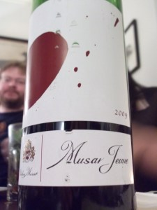 Ch Musar Jeune 2009