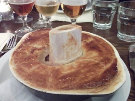 pheasant pie & bone marrow