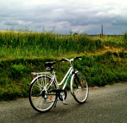 bicycle, somewhere in the Loire