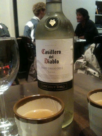 Casillero del Diablo pinot grigio