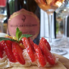 Lunch/Launch of Billecart-Salmon Elisabeth Rose 2002