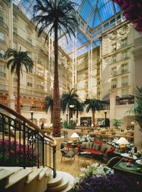 Landmark Hotel atrium