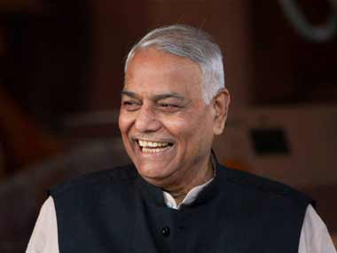 Yashwant Sinha, former finance and external affairs minister, and father of Jayant Sinha. Credit: PTI