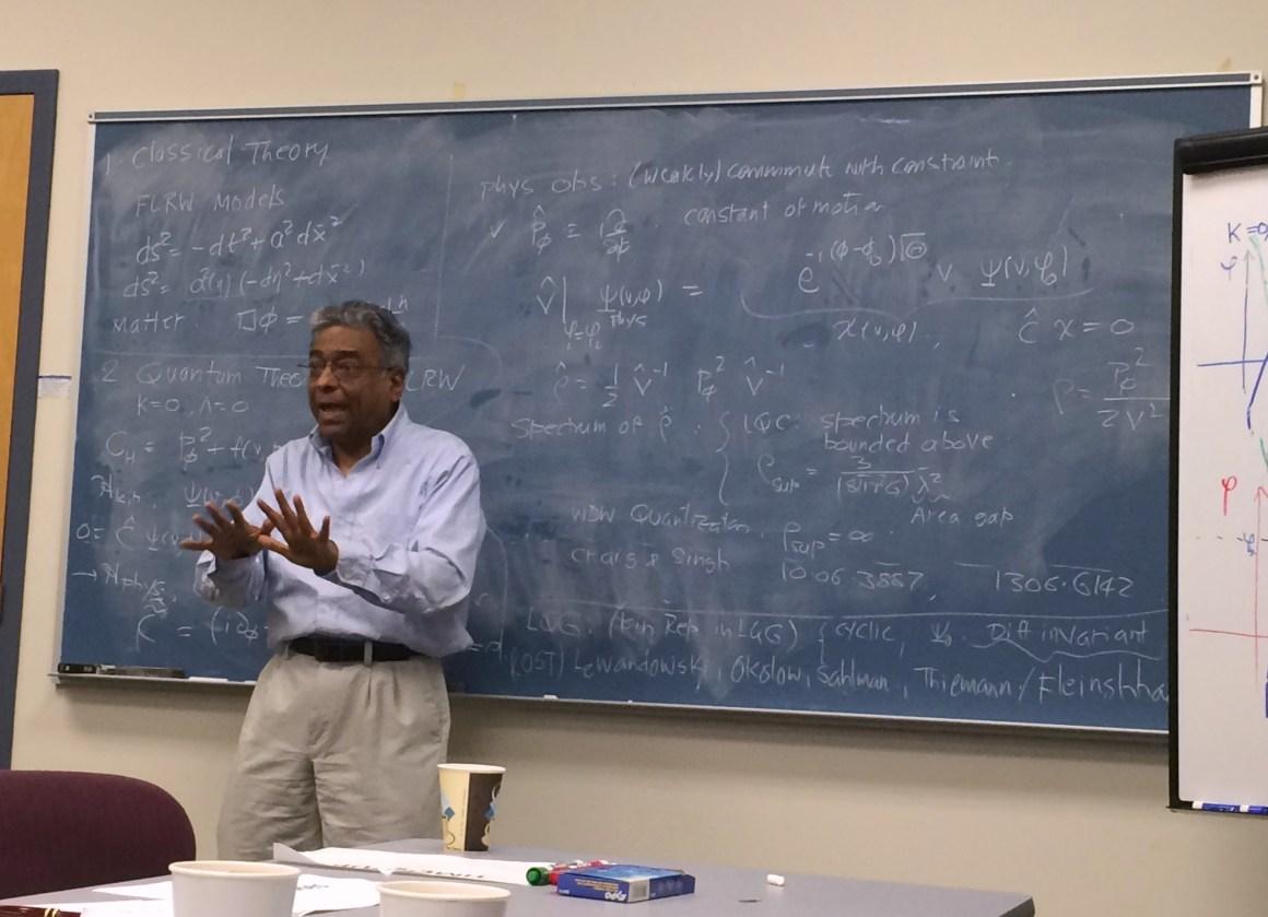 Abhay Ashtekar. Credit: pitt.edu