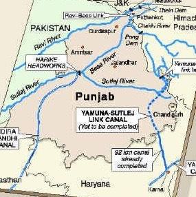 rivers of punjab Research article 101002/2017wr021486 socio-hydrology of channel flows in complex river basins: rivers, canals, and distributaries in punjab, pakistan.