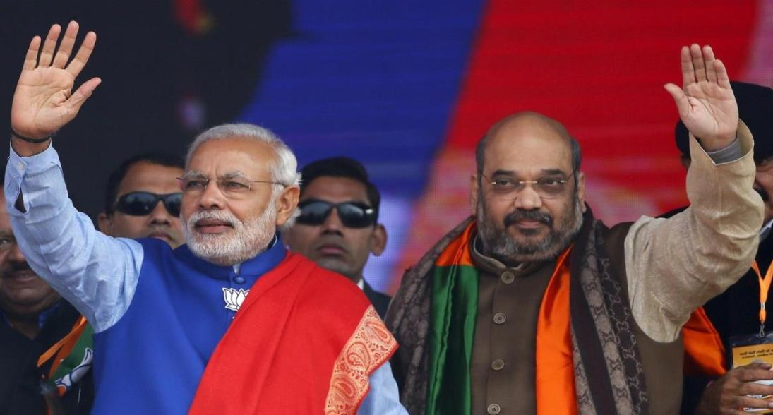 Prime Minister Narendra Modi and Bharatiya Janata Party President Amit Shah. Credit: Reuters.