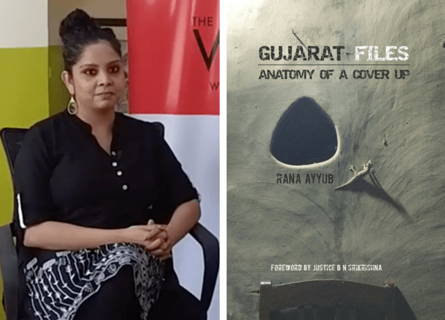 Rana Ayyub, author of 'Gujarat Files: The Anatomy of a Cover-Up'.