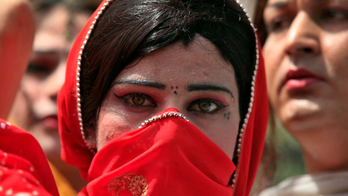 File photo of a transgender rights rally in Pakistan. Credit: Reuters