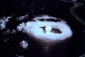 Nuclear test. Credit: Department of Energy/The Conversation