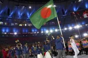 The Bangladeshi contingent at the Rio Olympics. Credit: Reuters