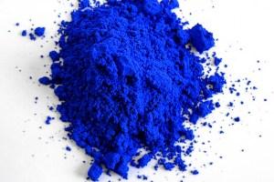 YInMn blue. Credit: Mas Subramanian/Wikimedia Commons, CC BY-SA 4.0