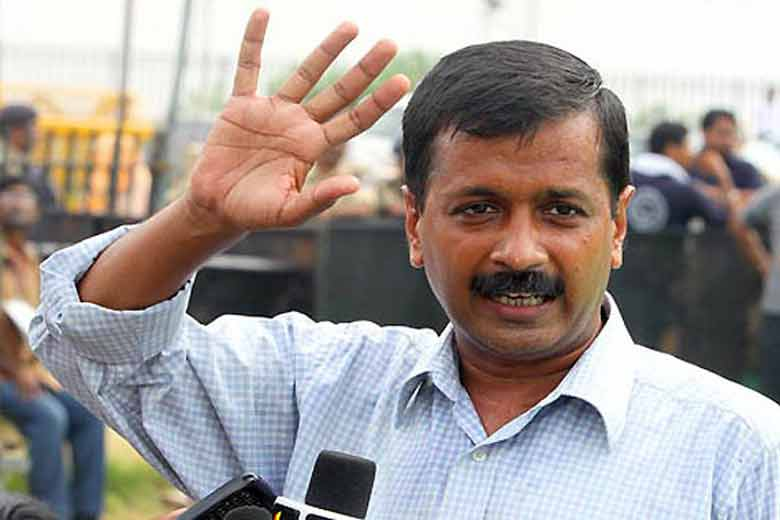 File picture of Delhi chief minister Arvind Kejriwal. Credit: PTI