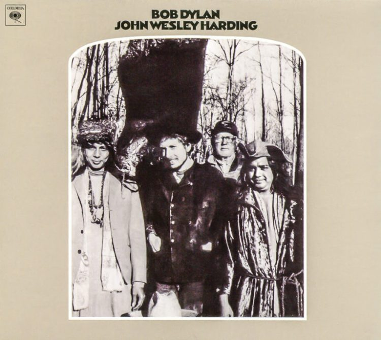 Bob Dylan's John Wesley Harding album cover. Credit: Jazz Guy/Flickr, CC BY-NC-ND 2.0
