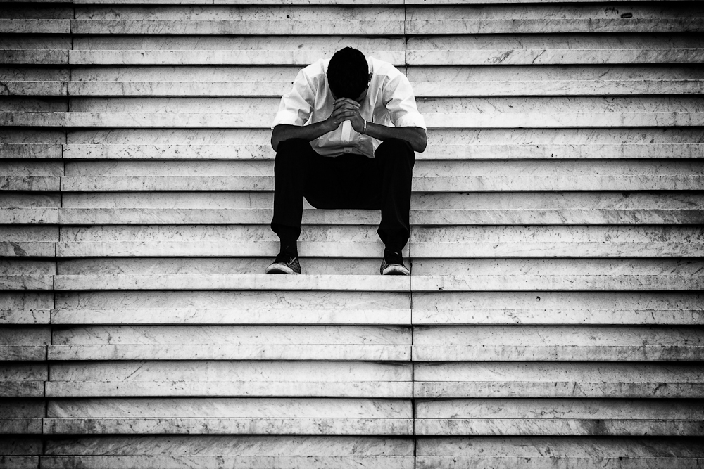 A hard day. La Défense, Paris. Credit: Franck Vervial/Flickr CC 2.0