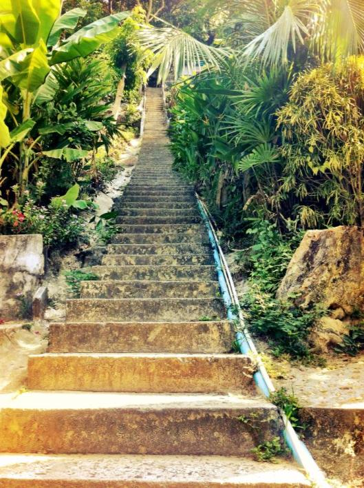 Stairs to the Ko Phi Phi Lookout
