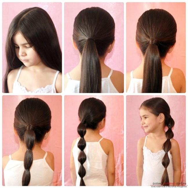 Красивые причёски в школу за 5 минут на средние волосы