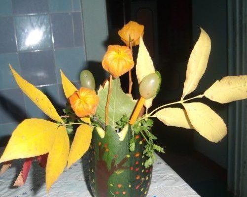 Поделка из кабачка своими руками фото ваза