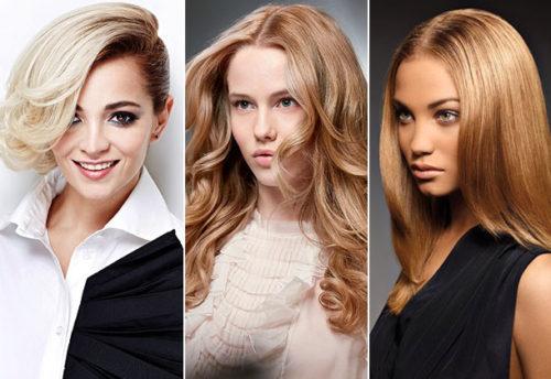 модные цвета волос 2017 женские фото на средние волосы блонд