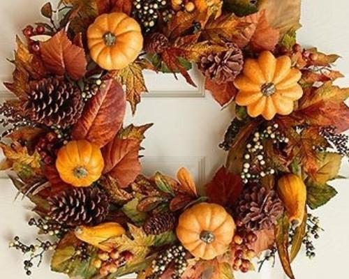 Декоративные венки своими руками из природных материалов Осенний венок своими руками. Мастер-класс с фото