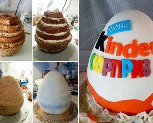 Как сделать торт для сюрприза