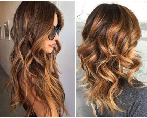 Модные покраски волос 2017 на средние волосы фото