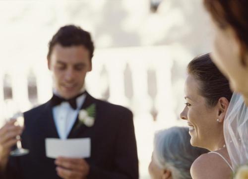 Слова благодарности свёкру на свадьбе