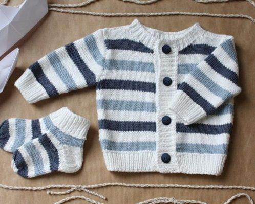 Вязание спицами кофточка для новорожденного спицами 58