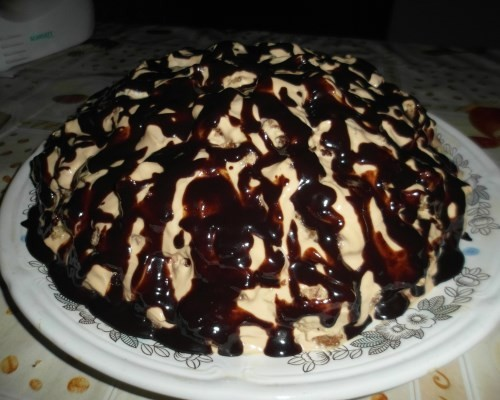 Рецепт торта банан творог на годик