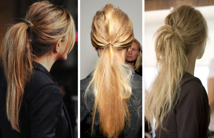 как красиво собрать волосы в прическу