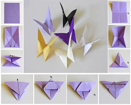 Как сделать красивую бабочку своими руками. - Украшение дома 71