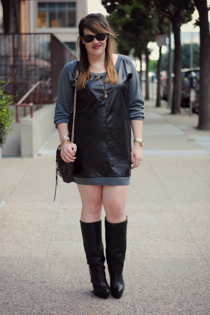 leather dress 01