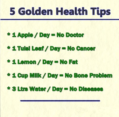 20 Best Health Tips to Stay Fit Forever