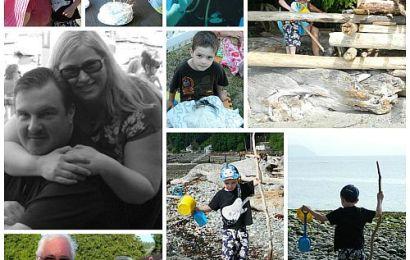 Cabin Days Collage