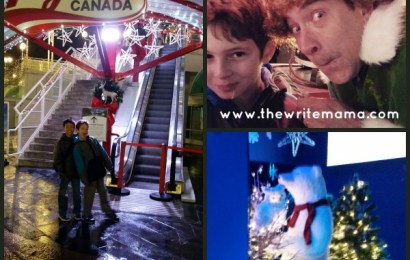 Christmas at Flyover Canada: A Visit to the North Pole