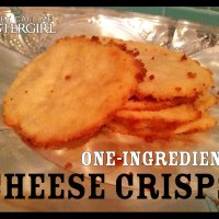 One-Ingredient Cheese Crisps Recipe